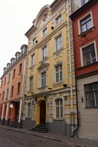 Haus der FeWo in der Altstadt