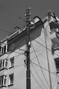Stromverkabelung