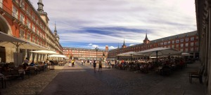 Panorama Plaza de Major